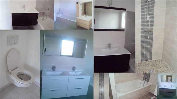 Artisan installateur de salle de bains douches