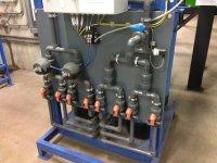 Centrale de traitement d'eau industrielle