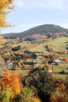 La colline du Kalblin en automne